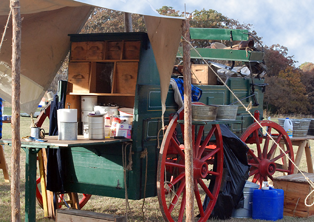 Chuck Wagon Pantry