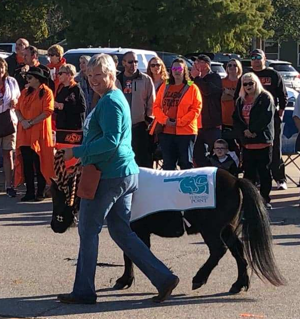 Baxter in the Homecoming Parade
