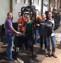 Perkins 4-H Club Clean up