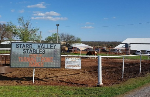 Starr Valley Sign